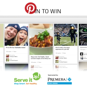 Premera and Seahawks Pin to Win contest